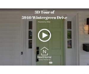 3D Tour of 5940 Wintergreen Drive