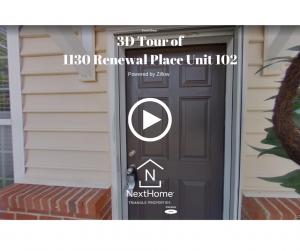 3D Tour of 1130 Renewal Place Unit 102